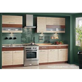 Kuchyně KAMMDUO 210-Z8, tráva/ořech