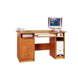 PC stůl se zásuvkami PRESIDENT, barva: