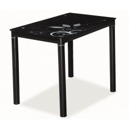 Jídelní stůl DAMAR, černá