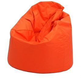 JUMBO, sedací vak, oranžová