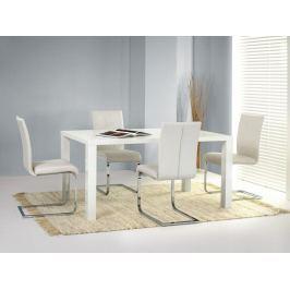 Jídelní stůl rozkládací RONALD 160, bílý lesk