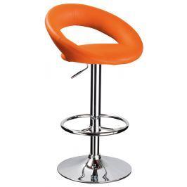 Barová židle C-300, oranžová