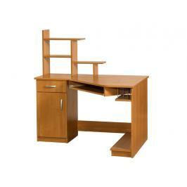 Praktický PC stůl CARMEN MAX, levý, barva: