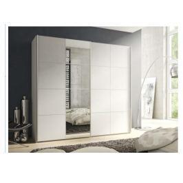 SCREEN skříň, bílá/zrcadlo
