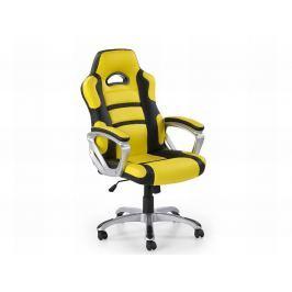 Kancelářské křeslo HORNET, žluto-černý