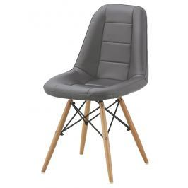 Jídelní židle VERDI, šedá