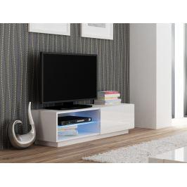 LIVO RTV-120S televizní stolek stojící, bílá