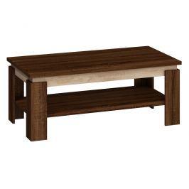 Konferenční stolek BETA, dub sonoma tmavý/dub sonoma světly