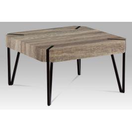 Konferenční stolek AHG-242 CAN, dub canyon/černá matná