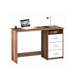 ERISTOTE, psací stůl, merano/bílá