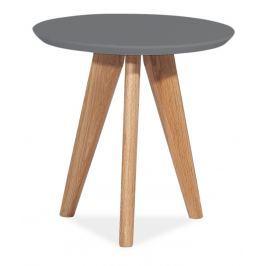 Konferenční stolek MILAN S1, šedá