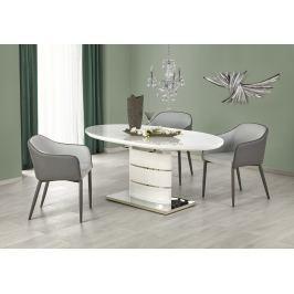 Jídelní stůl ASPEN 140/180x90 cm, bílý