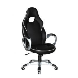 Kancelářské křeslo DELUXE, černá/bílá