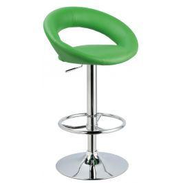 Barová židle C-300, zelená