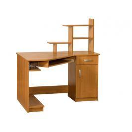 Praktický PC stůl CARMEN MAX, pravý, barva: