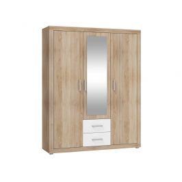 VIKY, šatní skříň 3D, barva: ...