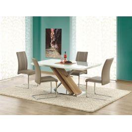 Jídelní stůl NEXUS, bílá/dub sonoma