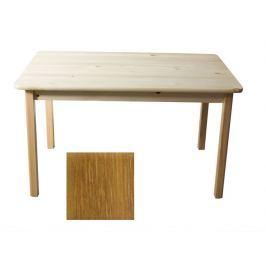 Stůl 100 x 55 cm nr.1, masiv borovice/moření dub