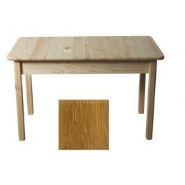 Stůl 120/155 x 75 cm nr.8, masiv borovice/moření dub