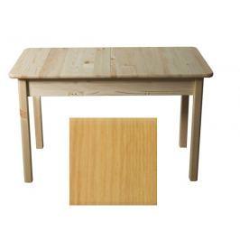 Stůl 140/175 x 80 cm nr.8, masiv borovice/moření olše