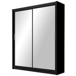 Šatní skříň PARIS 160 černá