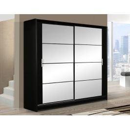 Šatní skříň DAKOTA 203 černá