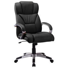Kancelářské křeslo Q-044 - černá ekokůže