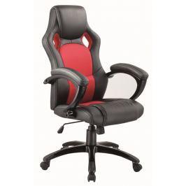 Kancelářské křeslo Q-107 černá/červená