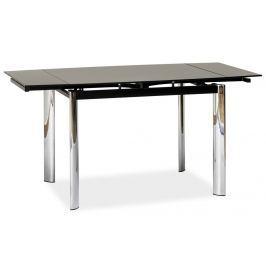 Jídelní stůl GD-019 rozkládací, černá