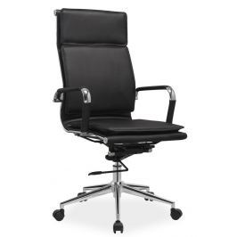 Kancelářské křeslo Q-253 černá ekokůže