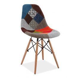 Jídelní židle SIMON A, patchwork