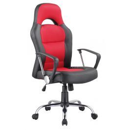 Kancelářské křeslo Q-033 černá/červená