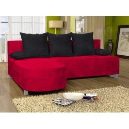Rohová sedačka WENECJA 9, červená látka