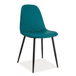 Jídelní čalouněná židle TEO C mořská