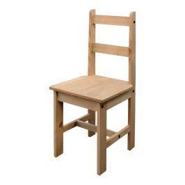 Jídelní židle CORONA 2, masiv borovice, vosk - 2 ks