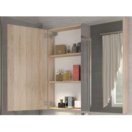 Koupelnová skříňka DELLA 60 cm, dub sonoma