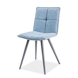 Jídelní čalouněná židle DARIO, modrá