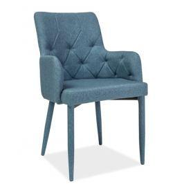 Jídelní čalouněná židle RICARDO, denim