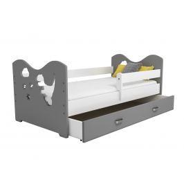 Zásuvka pod postel MIKI, šedá