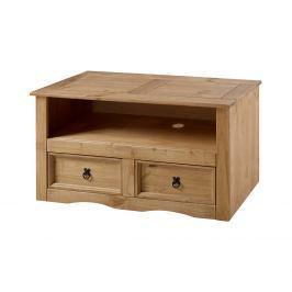 TV stolek CORONA, medový odstín