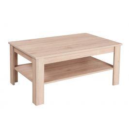 Konferenční stolek WOOD, dub san remo/latte