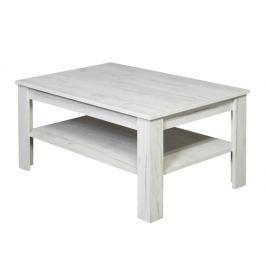 Konferenční stolek WOOD, dub sněhový