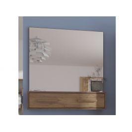 Zrcadlo RIO 10, craft tobaco/craft zlatý