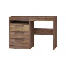 Psací stůl 3S MAXIMUS 03, craft tobaco/craft zlatý