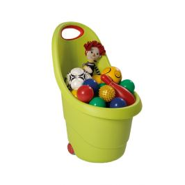 KIDDIES GO vozíček - zelený Keter