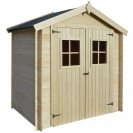 Dřevěný zahradní domek / kůlna 2 x 1,5 m Dekorhome
