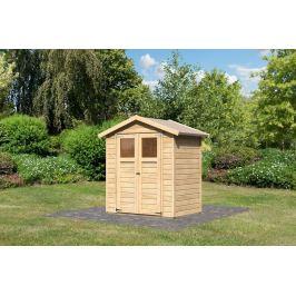 Dřevěný zahradní domek 180 x 123 cm Dekorhome