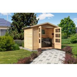 Dřevěný zahradní domek 246 x 246 cm Dekorhome