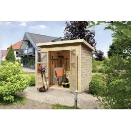 Dřevěný zahradní domek 182 x 122 cm Dekorhome