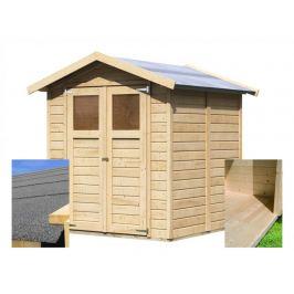 Dřevěný zahradní domek s podlahou 180 x 184 cm Dekorhome